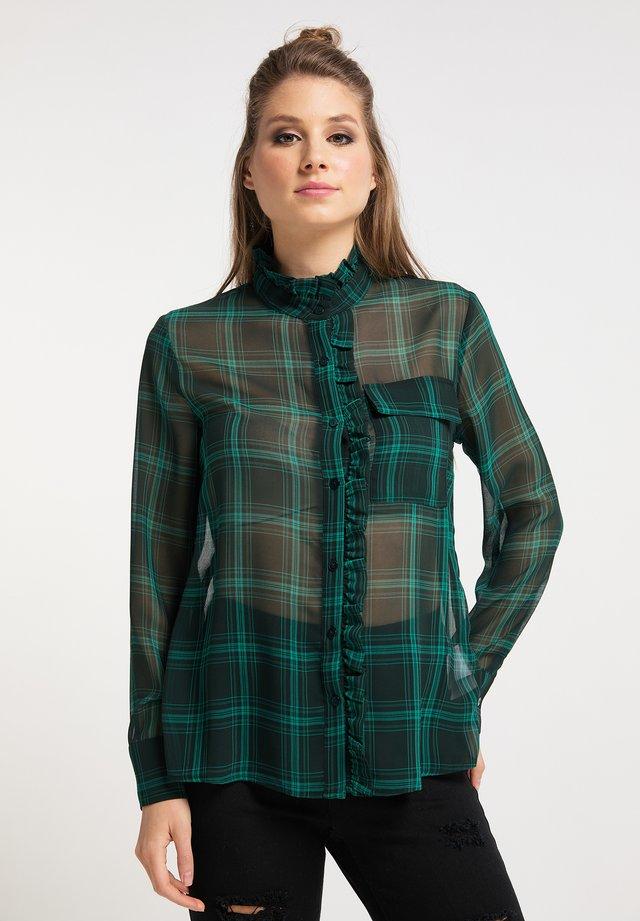 Košile - dunkelgrün