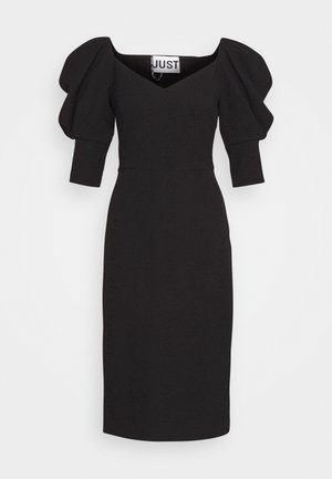 BONNIE DRESS - Shift dress - black