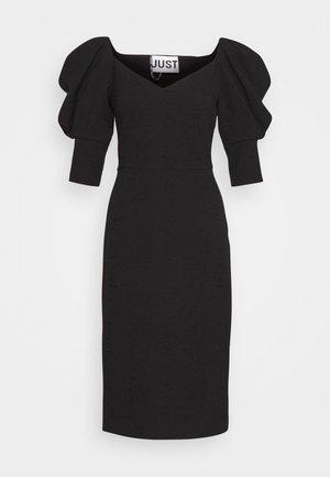 BONNIE DRESS - Etuikjole - black