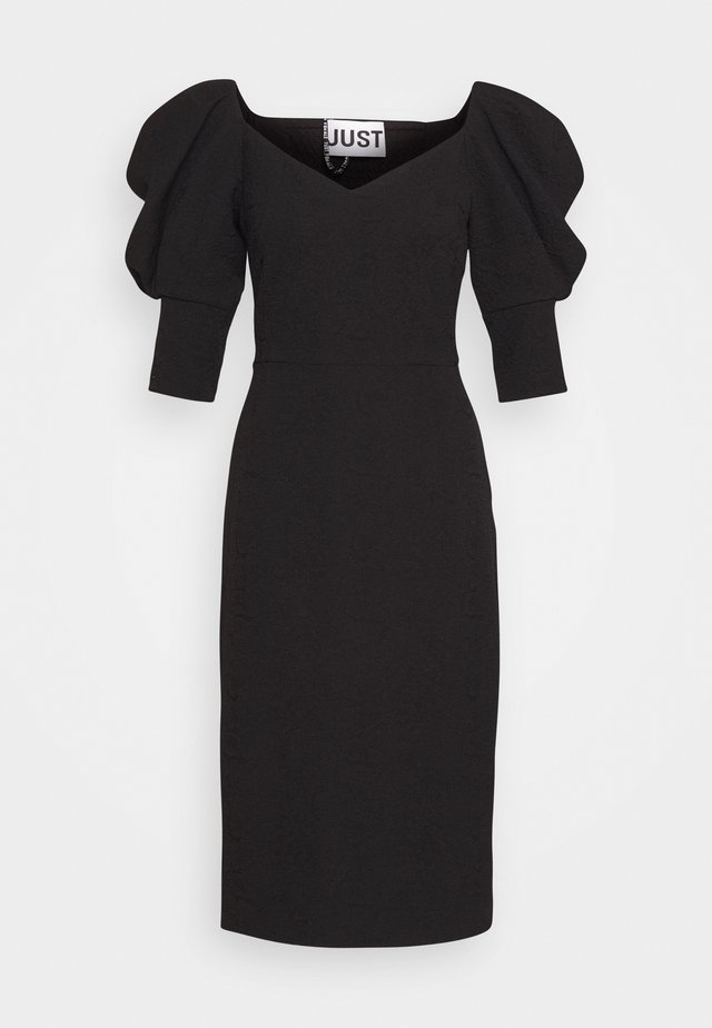 BONNIE DRESS - Fodralklänning - black