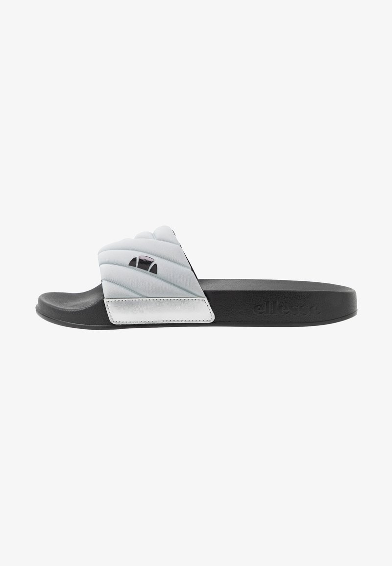 Ellesse - FILIPPO QUILTED - Mules - silver/black