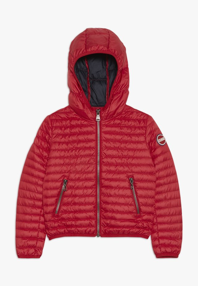 BASIC LIGHT  - Daunenjacke - red