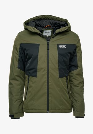 JCOBEST JACKET  - Winter jacket - forest night