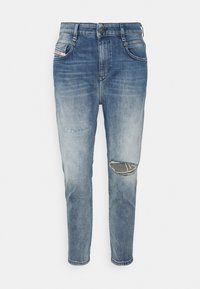 Diesel - D-FAYZA - Relaxed fit jeans - medium blue - 0