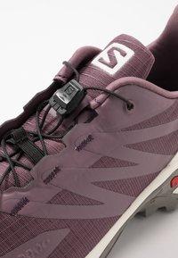 Salomon - SUPERCROSS  BLAST - Trail running shoes - flint/vanilla/vintage kaki - 5