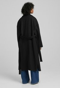 Bershka - MANTEL - Halflange jas - black - 2