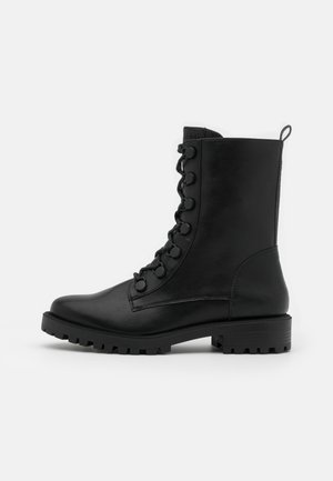 BRISTOL HI BOOT - Bottines à lacets - black