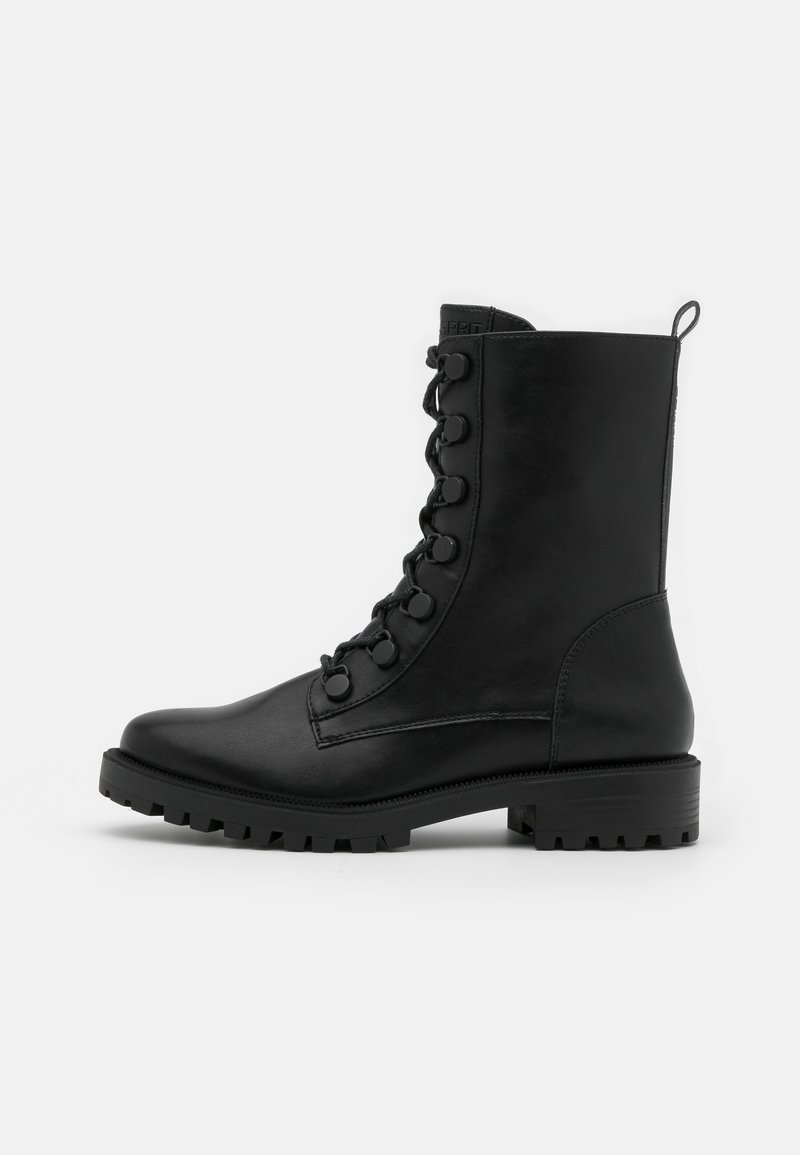 Esprit - BRISTOL HI BOOT - Lace-up ankle boots - black