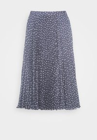 Abercrombie & Fitch - PLEATED MIDI - A-line skirt - blue - 3