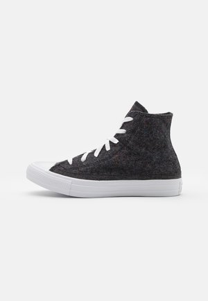 CHUCK TAYLOR ALL STAR RENEW UNISEX - High-top trainers - black/lakeside blue/white