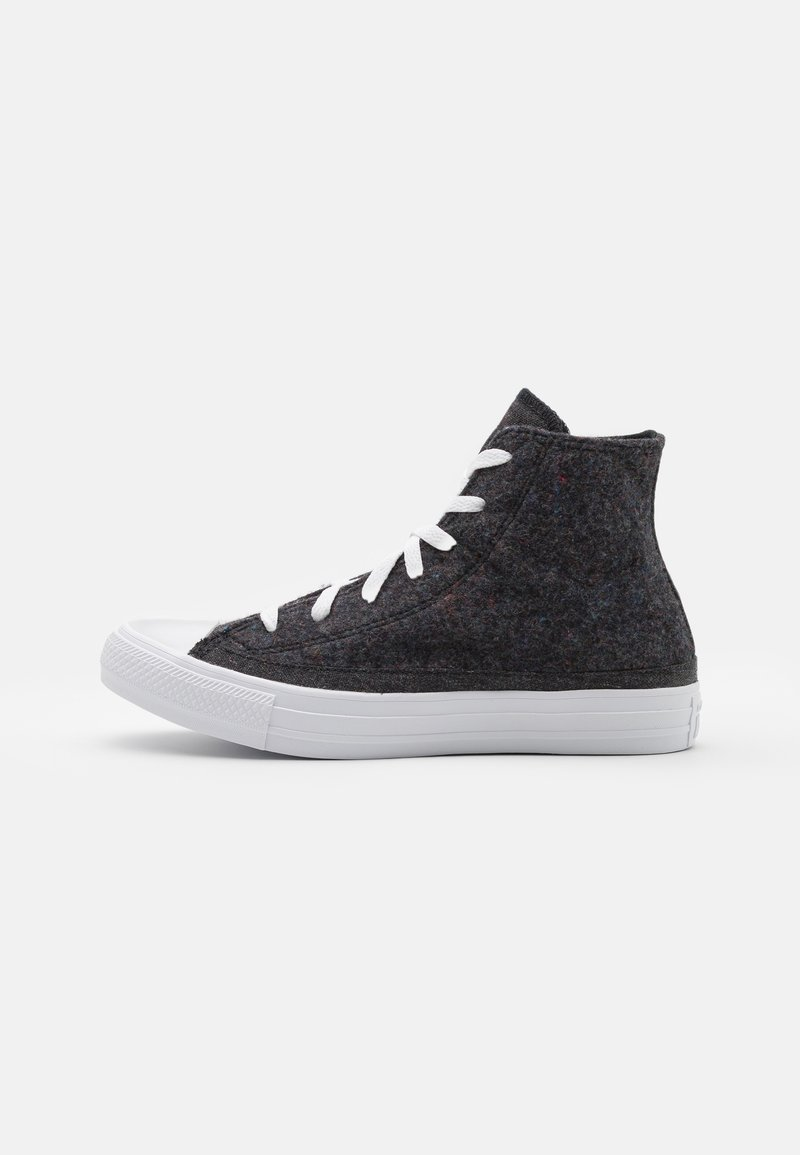 Converse - CHUCK TAYLOR ALL STAR RENEW UNISEX - High-top trainers - black/lakeside blue/white