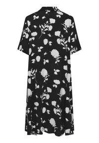 Live Unlimited London - Shirt dress - black - 2