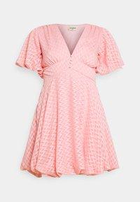 Lace & Beads - EMMA MINI - Denní šaty - pink - 4