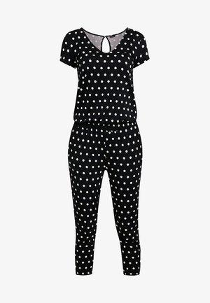 PÜNKTCHEN - Pyjama - schwarz/weiß