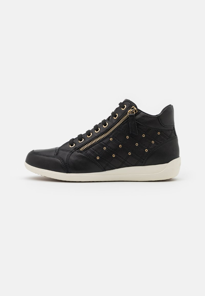 Geox - MYRIA  - High-top trainers - black