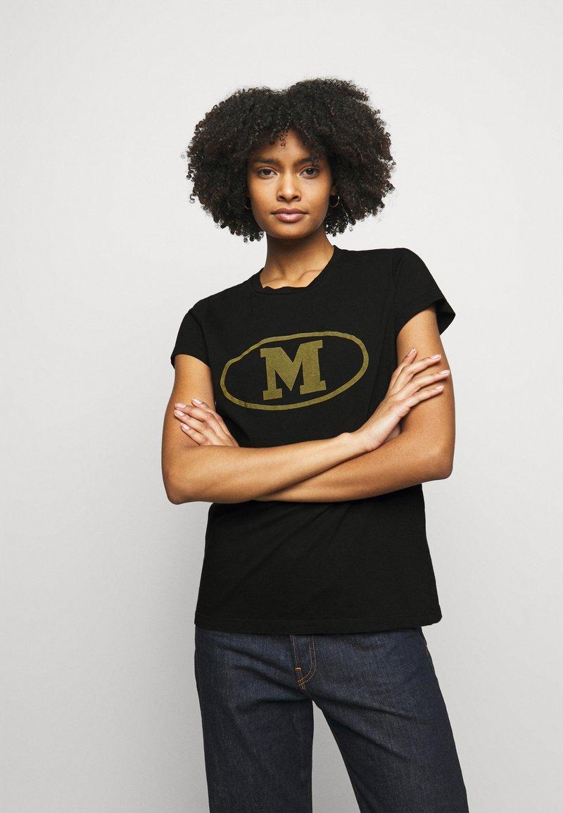 M Missoni - Print T-shirt - black