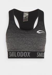 Smilodox - SEAMLESS MELLOW - Urheiluliivit: keskitason tuki - schwarz - 3