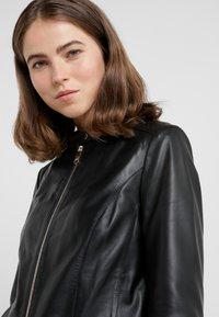 MAX&Co. - DENOTARE - Leather jacket - black - 3