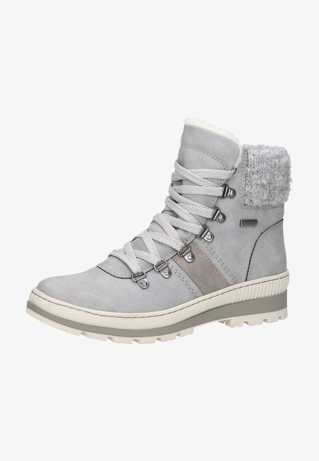 Boots à talons - hellgrau 33