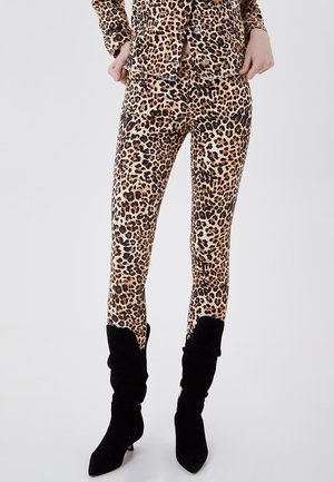 Jeans Skinny Fit - animal print