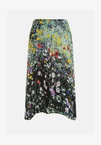 Ulla Popken - Pleated skirt - multi-coloured - 3