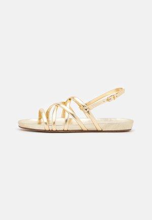 Sandalias - light gold