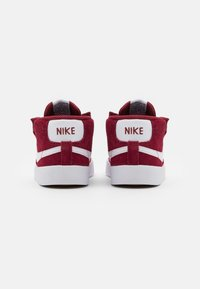 Nike Sportswear - BLAZER MID '77 UNISEX - Baby shoes - team red/white/black - 2