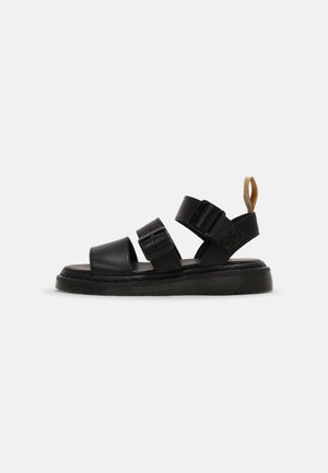 VEGAN GRYPHON UNISEX - Sandals - black
