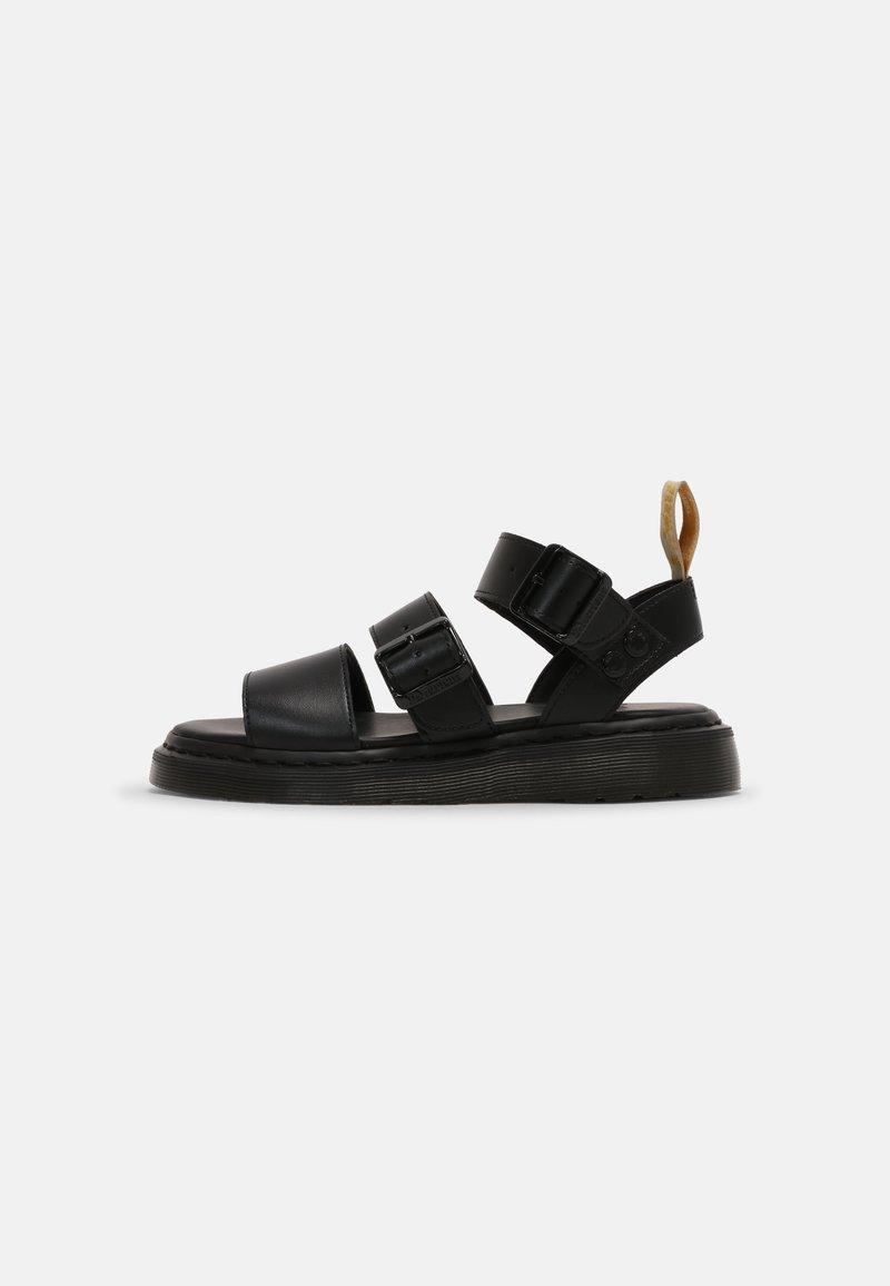 Dr. Martens - VEGAN GRYPHON UNISEX - Sandals - black