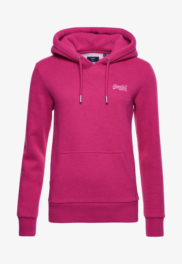 ORANGE LABEL - Hoodie - magenta marl