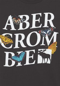 Abercrombie & Fitch - LOGOTAPE  - Print T-shirt - dark grey - 2