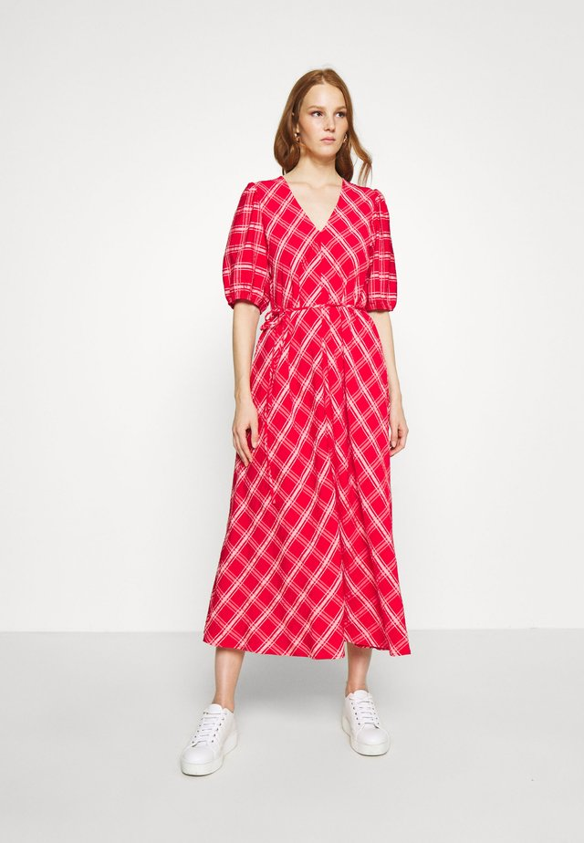 VILMA - Day dress - red
