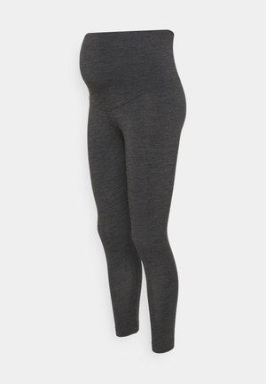 LEGGINGS - Pyžamový spodní díl - dark grey melange