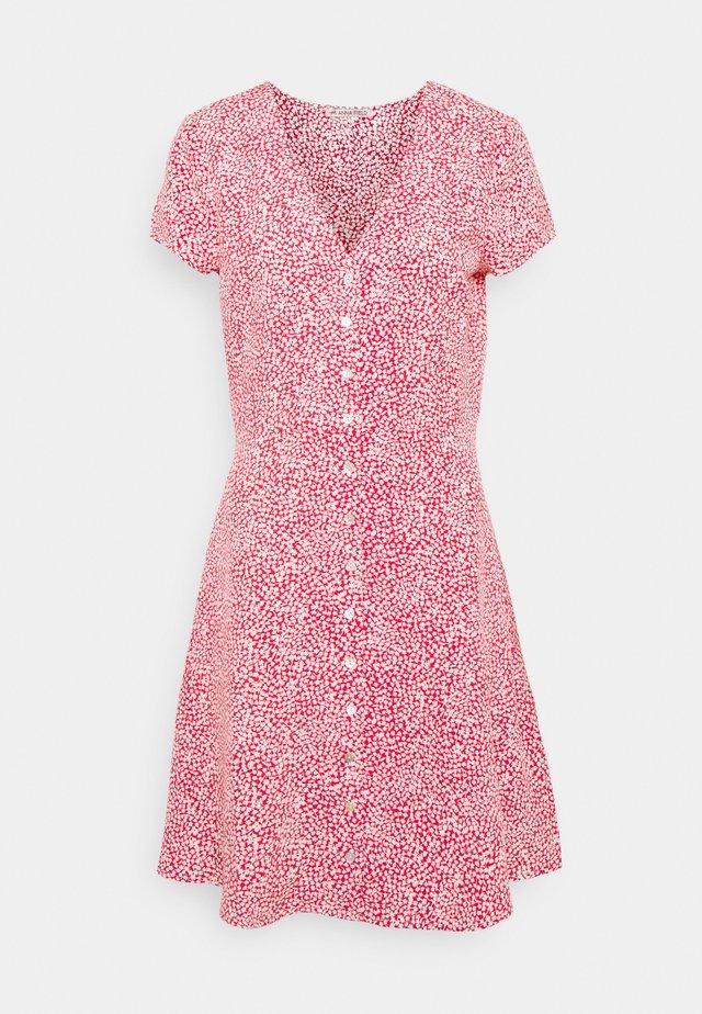 Vardagsklänning - pink/white