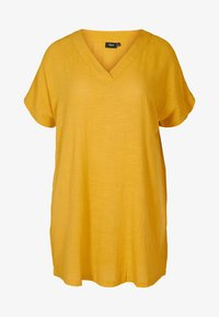 Zizzi - Tunic - yellow - 1