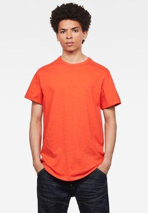 BASEBALL ROUND SHORT SLEEVE - Basic T-shirt - orange