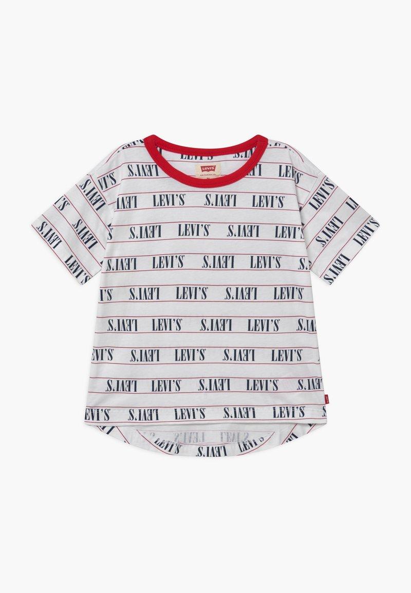 Levi's® - RINGER TEE - T-Shirt print - white