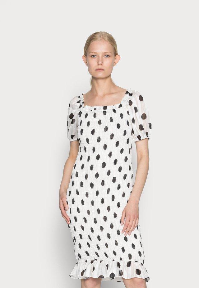 SANDRA DRESS - Cocktail dress / Party dress - black dot