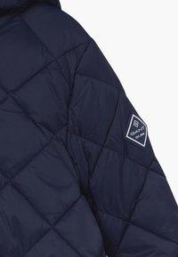 GANT - THE WEIGHT DIAMOND PUFFER - Winter jacket - evening blue - 5