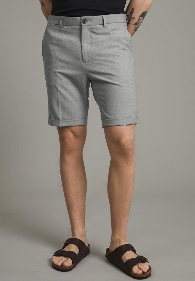 MALIAM - Shorts - light grey melange