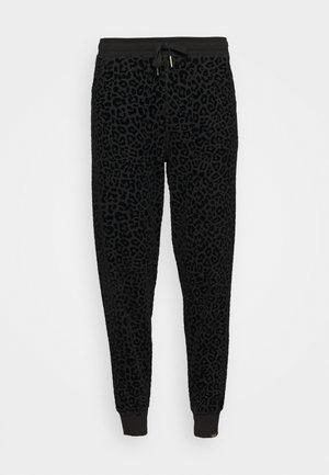 LEOPARD - Teplákové kalhoty - black
