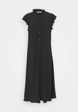 FLEUR FLOWER PRINT ABOVE THE KNEE DRESS - Shirt dress - black jet