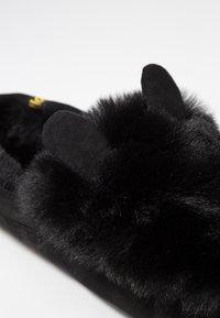flip*flop - LOAFER MOUSE - Hausschuh - black - 2