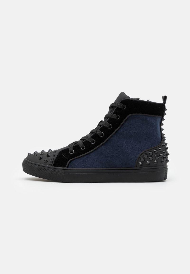 Steve Madden - CORDZ - Sneakersy wysokie - navy/multicolor