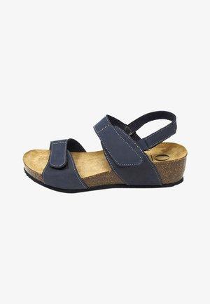 BIO JELISA - Sandalias con plataforma - azul