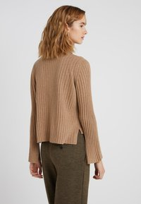 pure cashmere - TURTLENECK - Trui - dark beige - 2