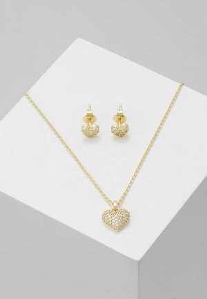 PREMIUM SET - Halsband - gold-coloured