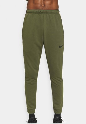 CAMO - Pantalones deportivos - rough green/black