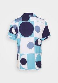 Frescobol Carioca - CAMP COLLAR COPIC - Shirt - sky blue - 1