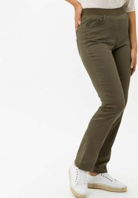 BRAX - Trousers - olive - 2